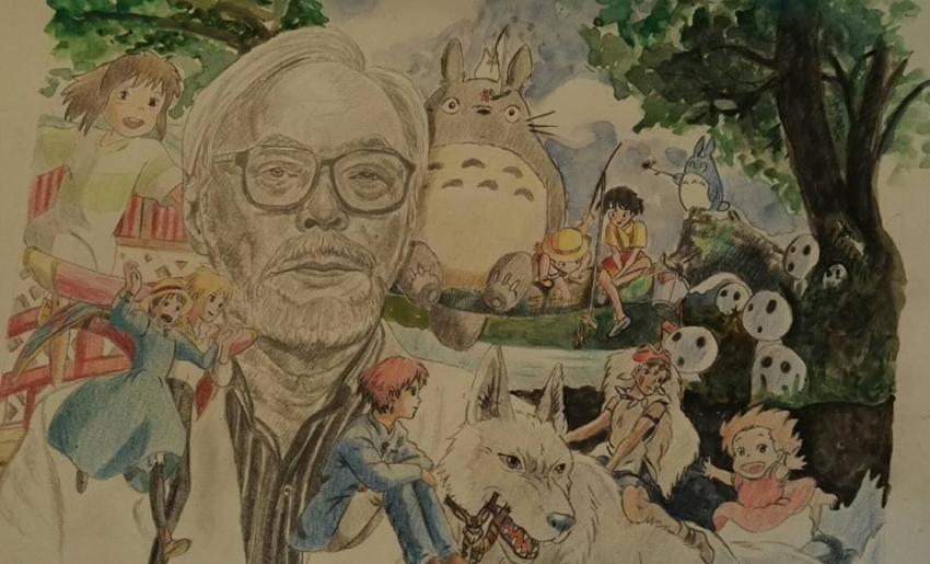 Hayao Miyazaki by g1adina87